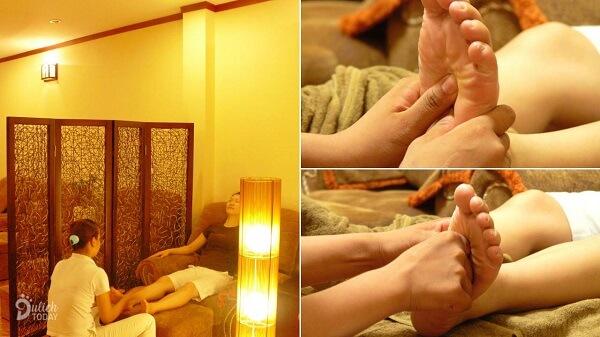 Phương pháp massage chân giúp thải độc, tăng cường sức khỏe