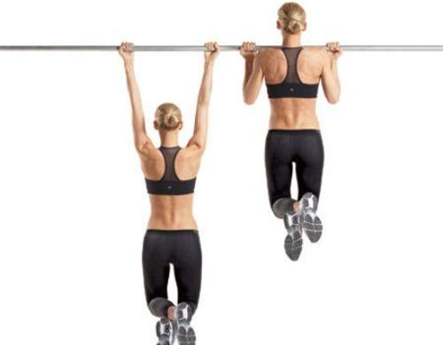 phương pháp tập cơ bụng với xà đơn treo cửa gắn tường
